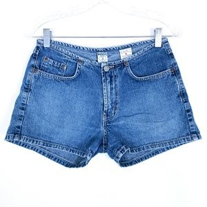 Lucky Brand Jean Shorts Cotton Mid Rise 4 (28x3)